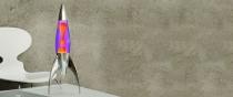 Lampe à lave Telstar - Violet et orange - Mathmos