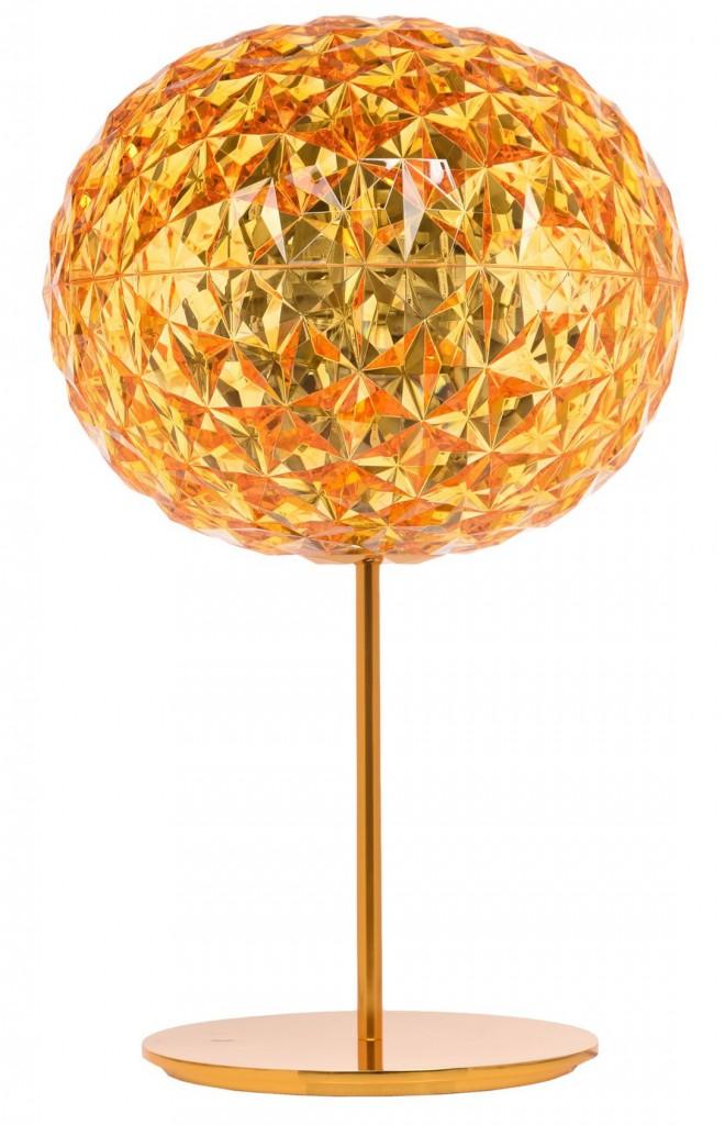 LAMPE A POSER PLANET - Jaune