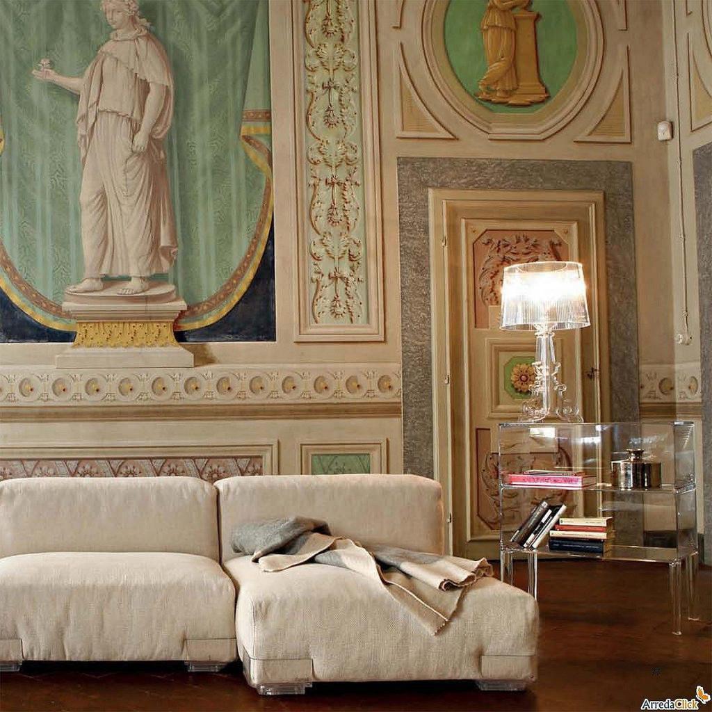 lampe bourgie kartell transparente. Black Bedroom Furniture Sets. Home Design Ideas