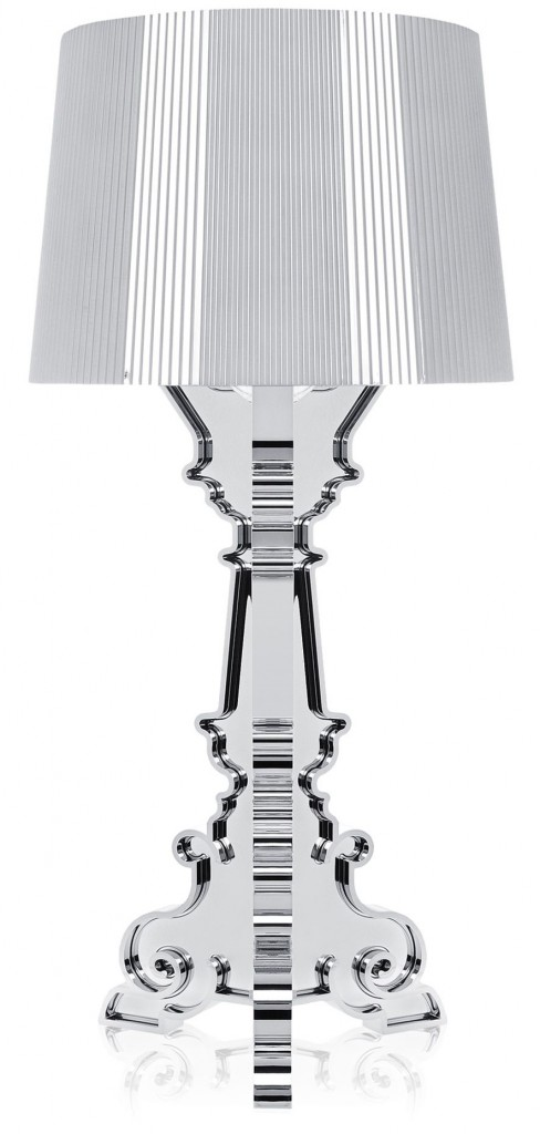 Lampe Bourgie - Métallisé - Kartell - Argent