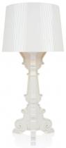 Lampe Bourgie - Métallisé - Kartell - Blanc