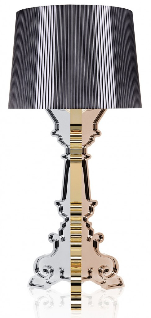 Lampe Bourgie - Métallisé - Kartell - Multicolore titane
