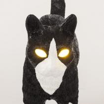 Lampe Jobby le chat - Noir et blanc - Seletti