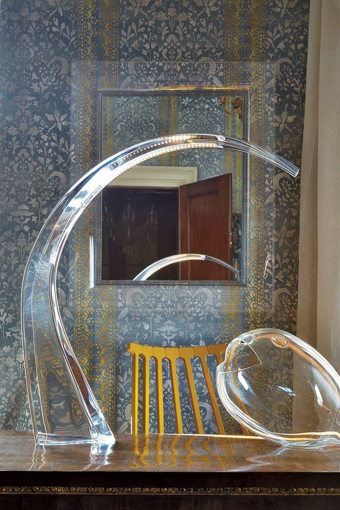LAMPE DE BUREAU  TAJ - Cristal