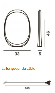 LAMPE DE TABLE ANISHA GRANDE