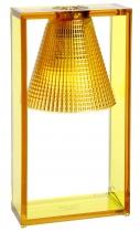 LAMPE DE TABLE LIGHT AIR CISELEE - Ambre