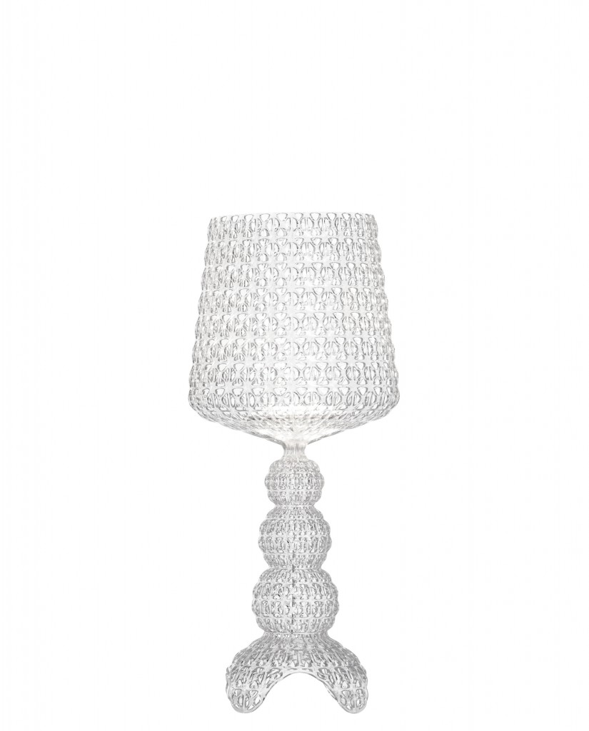 Lampe de table Mini Kabuki - Kartell - Cristal