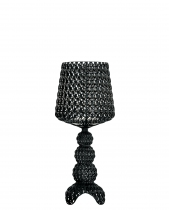 Lampe de table Mini Kabuki - Kartell - Noir