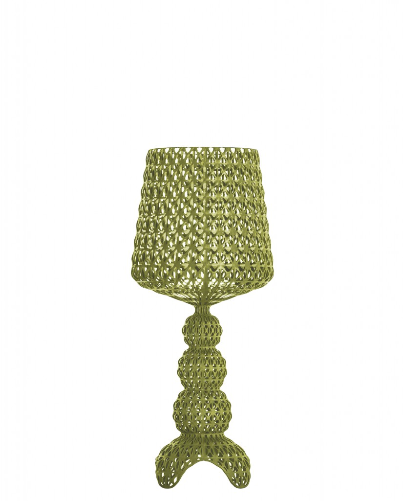 Lampe de table Mini Kabuki - Kartell - Vert
