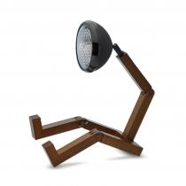 Lampe Mr Wattson frêne noir mat - Piffany
