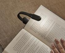 Lampe rechargeable pour livre - Kikkerland