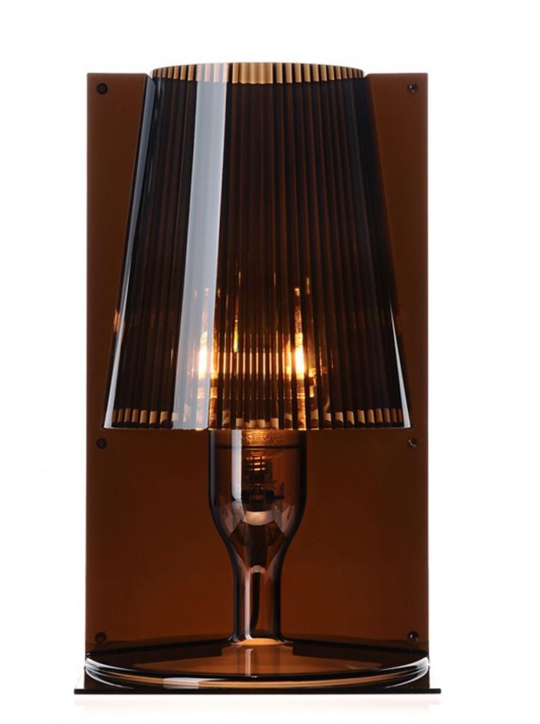 Lampe Take - Kartell - Fumé