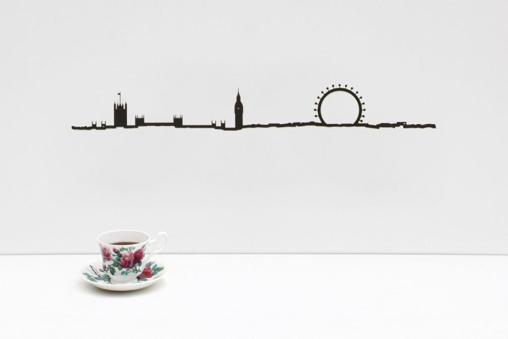 Frise décorative Londres - theLine