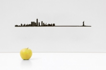 Frise décorative New York - theLine