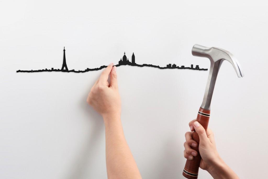 Frise décorative Paris - theLine