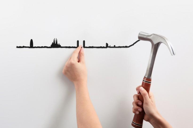 Frise décorative Barcelona - theLine
