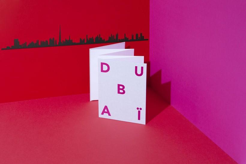 Frise décorative Dubai - theLine
