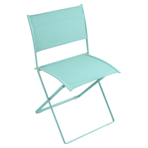 LOT DE 2 CHAISES PLIANTES PLEIN AIR - Carotte