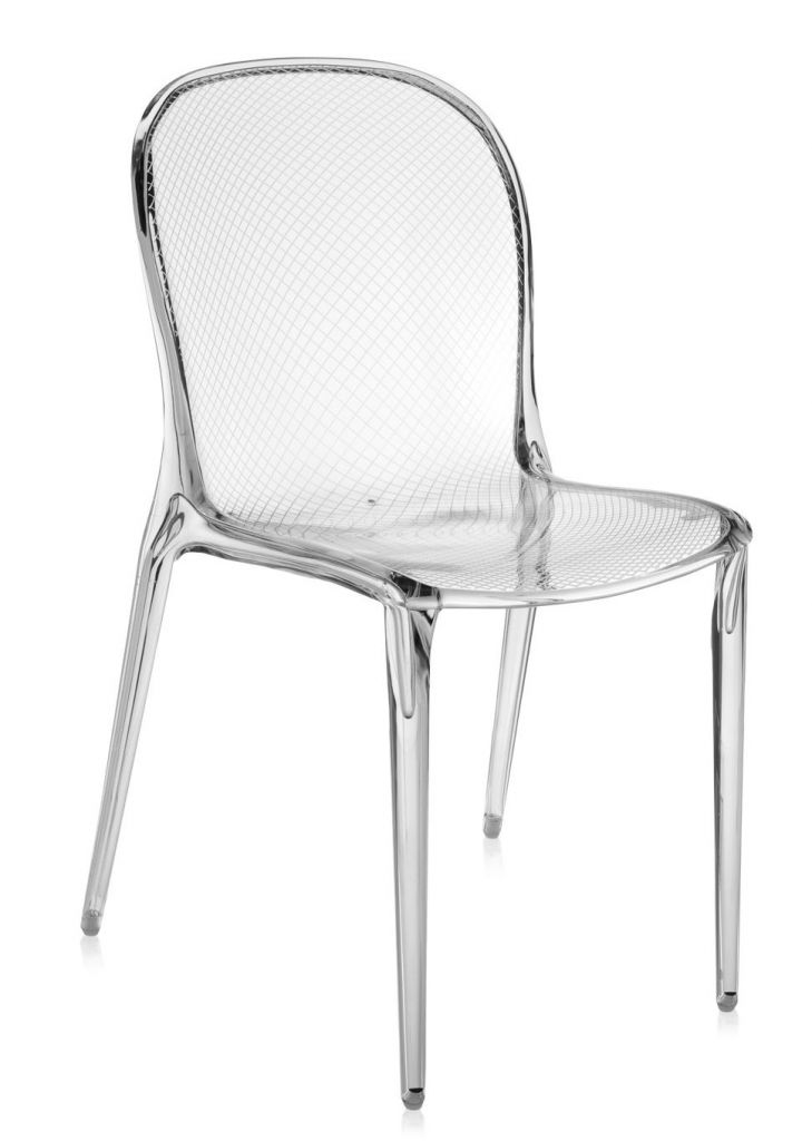 LOT DE 2 CHAISES THALYA - Cristal