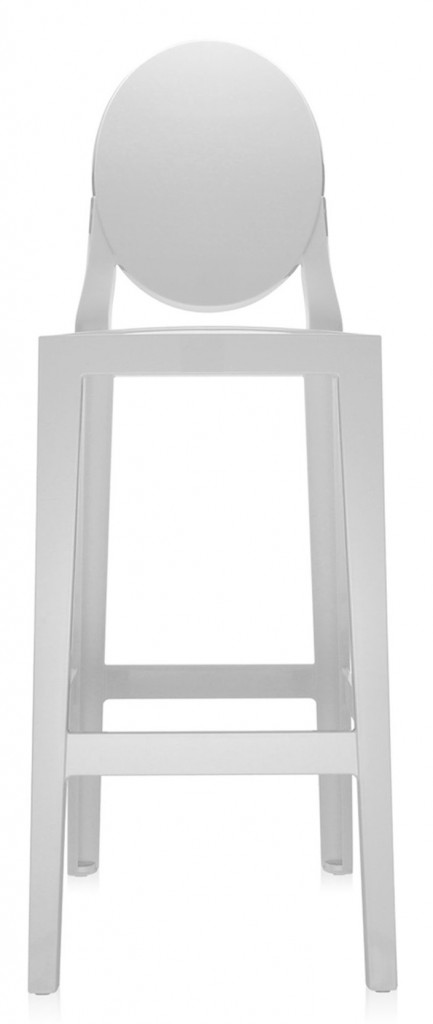 LOT DE 2 TABOURETS ONE MORE KARTELL H75 CM