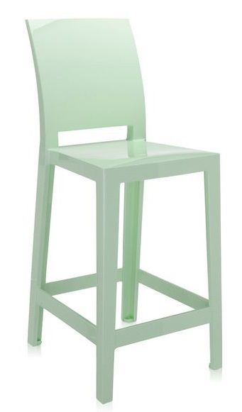 LOT DE 2 TABOURETS ONE MORE PLEASE KARTELL H65 CM