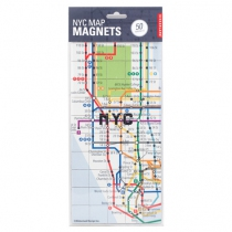 Map magnets NYC - KIKKERLAND