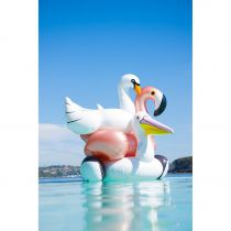 MATELAS GONFLABLE SUNNYLIFE - Flamand or rose