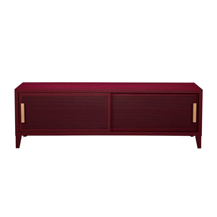 Meuble TV Tolix made in France. Un meuble de télévision design style industriel marqué. Le B2 bas Tolix vous est présenté en Bourgogne