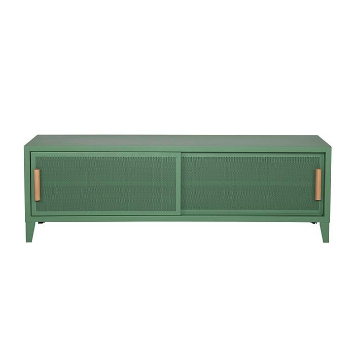 Meuble TV Tolix made in France. Un meuble de télévision design style industriel marqué. Le B2 bas Tolix vous est présenté en romarin