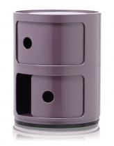 Meuble de rangement violet kartell est le plus pratique qui soit avec son faible poids et ses grands espaces de rangement, il s'adapte à tous vos besoins.