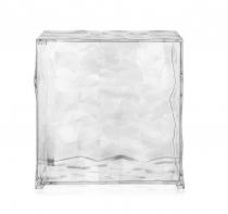 Meuble Optic - Avec porte - Kartell - Cristal