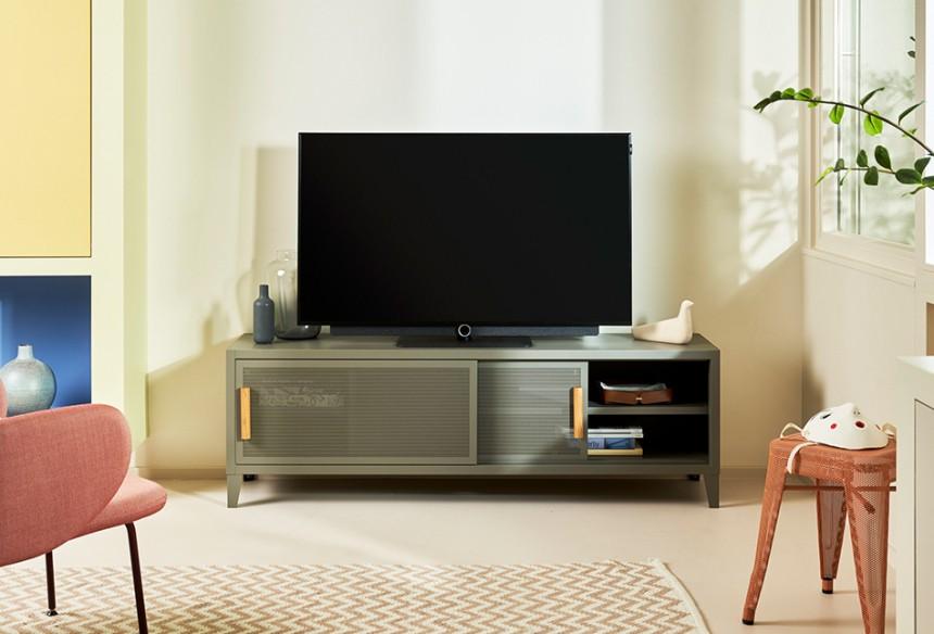 Meuble TV Hi-Fi 160cm - Tolix