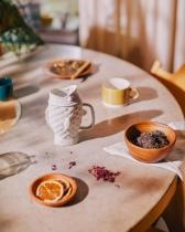 Mug avec infuseur Taiyaki crème - Doiy