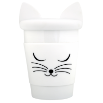 Mug Trophy - Pylones - Chat blanc