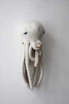Peluche Pieuvre Albino - Bigstuffed