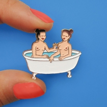 Pin\'s bain - Coucou Suzette