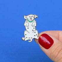 Pin\'s Dalmatien - Coucou Suzette