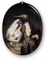PLATEAU IBRIDE TABLEAU OKXO ROUEN THE LOVEBIRDS LE BOUDOIR