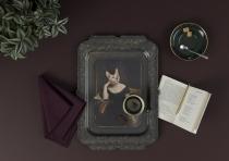 PLATEAU RECTANGLE IBRIDE TABLEAU OKXO ROUEN VICTOIRE