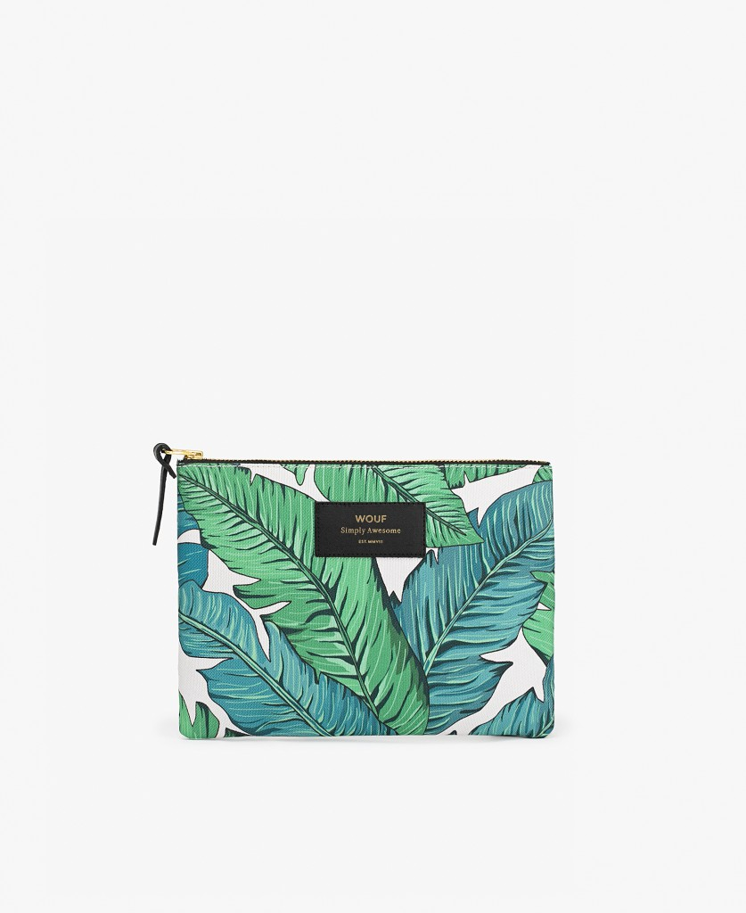 POCHETTE TROPICAL - WOUF
