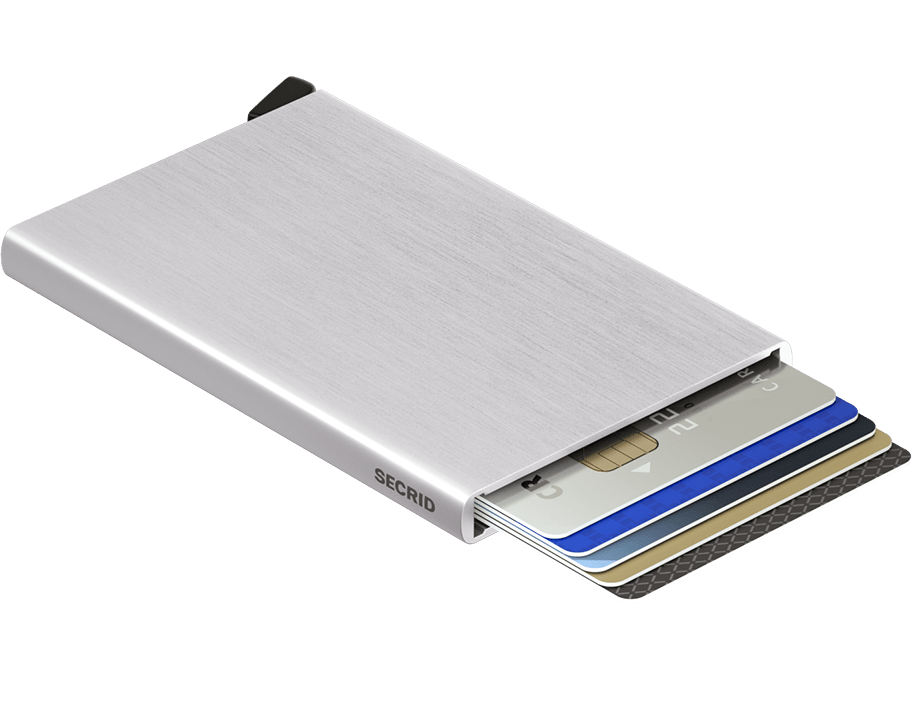 Porte cartes Cardprotector - Secrid - Argent brossé