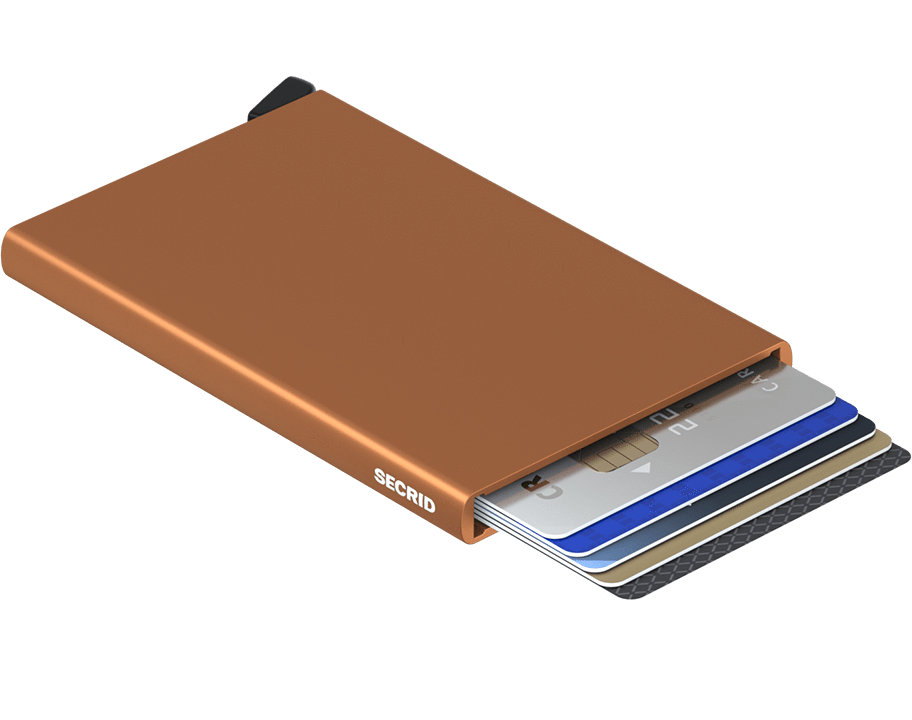 Porte cartes Cardprotector - Secrid - Marron clair