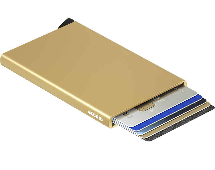 Porte cartes Cardprotector - Secrid - Or