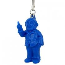 Porte clef Nain Sponti - Ottmar - Bleu