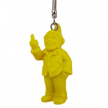 Porte clef Nain fuck jaune <br />
