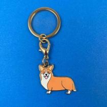 Porte-clés/Médaille Corgi - Coucou Suzette