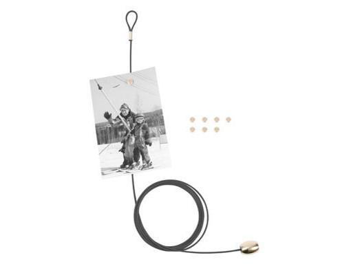 Porte photo cable aimanté - KIKKERLAND