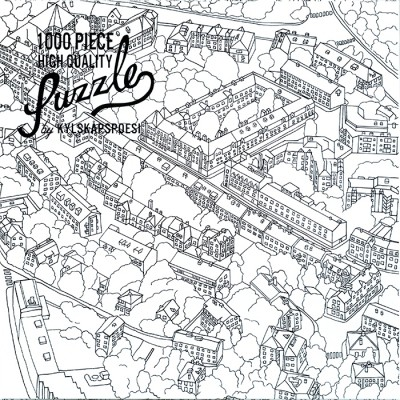 Puzzle City Sketch - Hygge Games