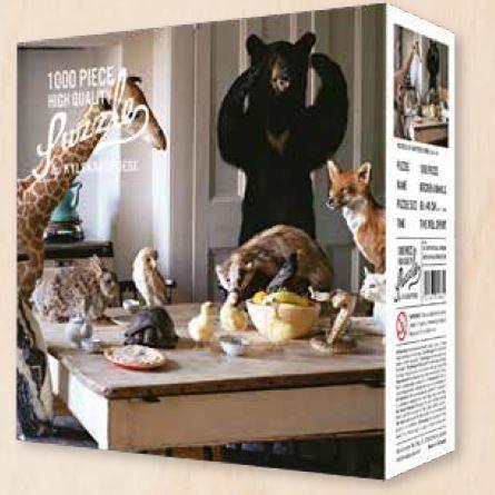 Puzzle Kitchen Animals - Hygge Games