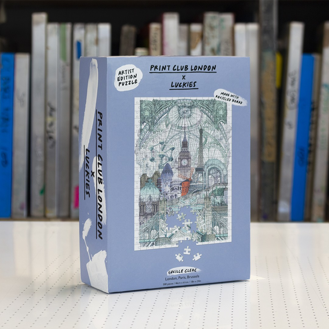 Puzzle Lonres Paris Bruxelles - Luckies